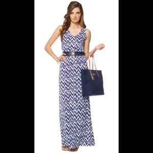 Lilly Pulitzer Mills Maxi Dress Get Your Chev On